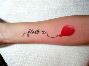 Frase: float on & Globo