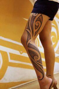 Tribal Pierna