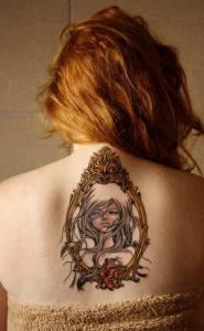 La Mujer del Espejo by Audrey Kawasaki