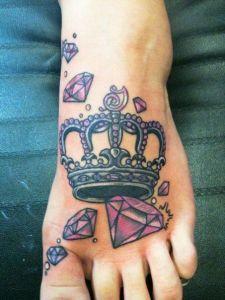 Corona con Diamantes