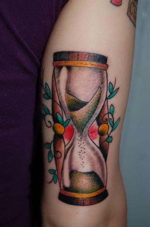Reloj De Arena Tatuajes Para Mujeres