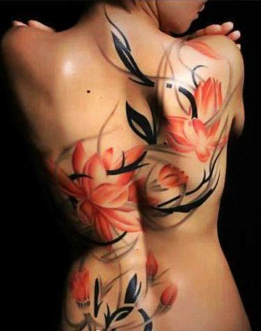 Tatuaje-Flores-Rojas