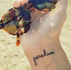 Frase: Paradise