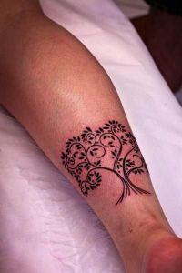 Árbol de la Vida de ramas en Corazón