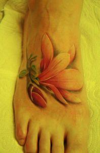 Flor con Pimpollo