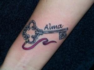 Llave, Frase: Alma