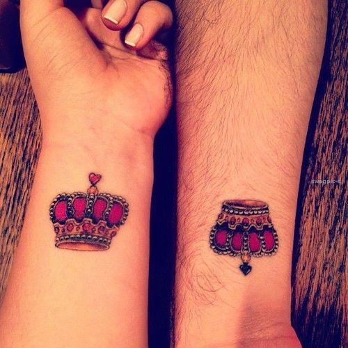 Coronas Para Pareja Tatuajes Para Mujeres