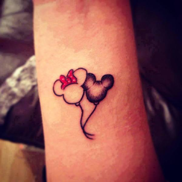 20 Minnie Mouse Minnie Mouse Kissing Tattoos Ideas And Designs