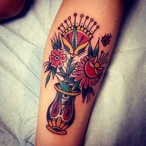 Tatuaje Tradicional Tatuajes Para Mujeres