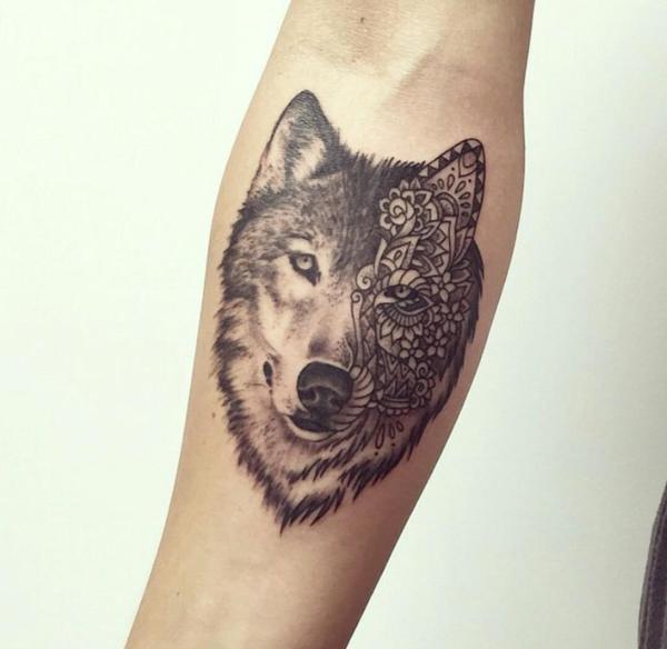 Lobo Tatuajes Para Mujeres