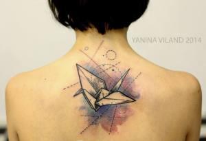 Grulla en Acuarelas by Yanina Viland