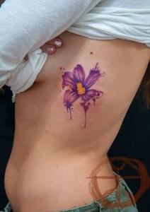 Flor en Acuarelas by koray karagozler