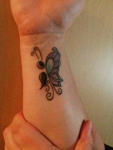 Punto y Coma (Semicolon) Mariposa
