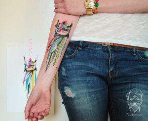 Lechuza by Bumpkin Tattoo