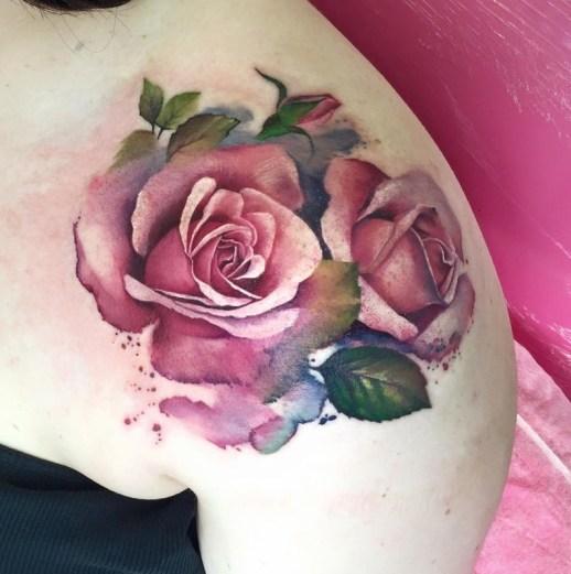 Flores Rosas by Lianne Moule