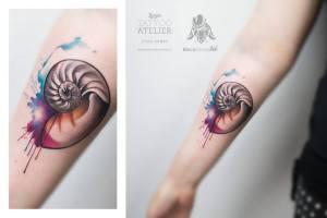 Caracol estilo Acuarelas by Julia Dumps