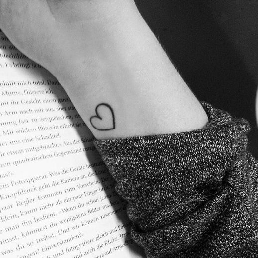 Corazón de líneas