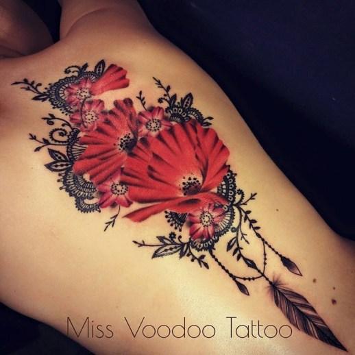 Flores de Amapolas by Miss Voodoo