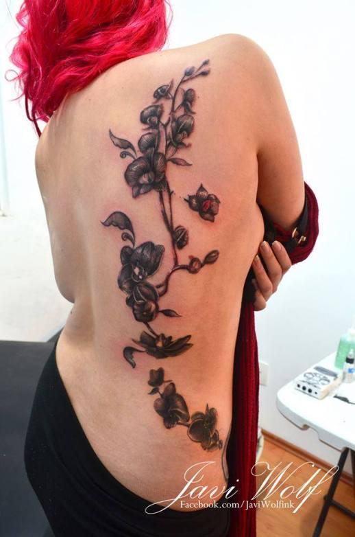Enredadera de Flores por Javi Wolf