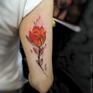 Flor por Alisa Tesla
