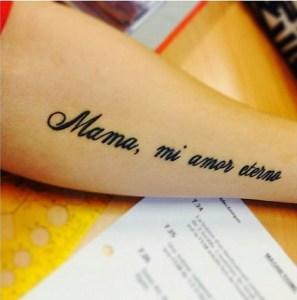 Frase: Mamá, mi amor esterno