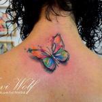 Mariposa estilo Acuarelas por Javi Wolf