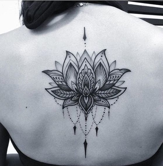 Flor De Loto Tatuajes Para Mujeres