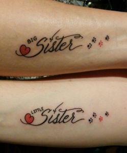 Frase: Big sister – Little sister