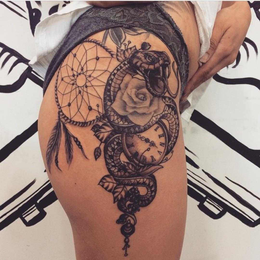 Atrapasueños Tatuajes Para Mujeres