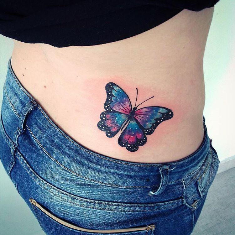 Espalda Baja Tatuajes Para Mujeres