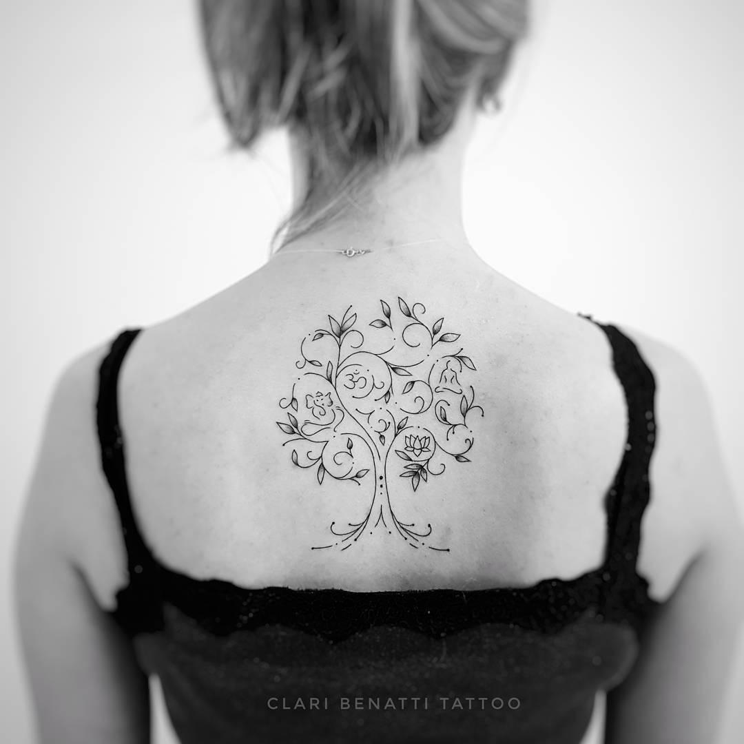 árbol De La Vida Tatuajes Para Mujeres