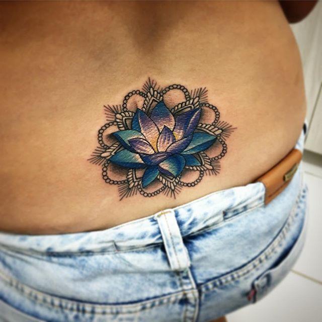 Flor De Loto Sexy Tatuajes Para Mujeres