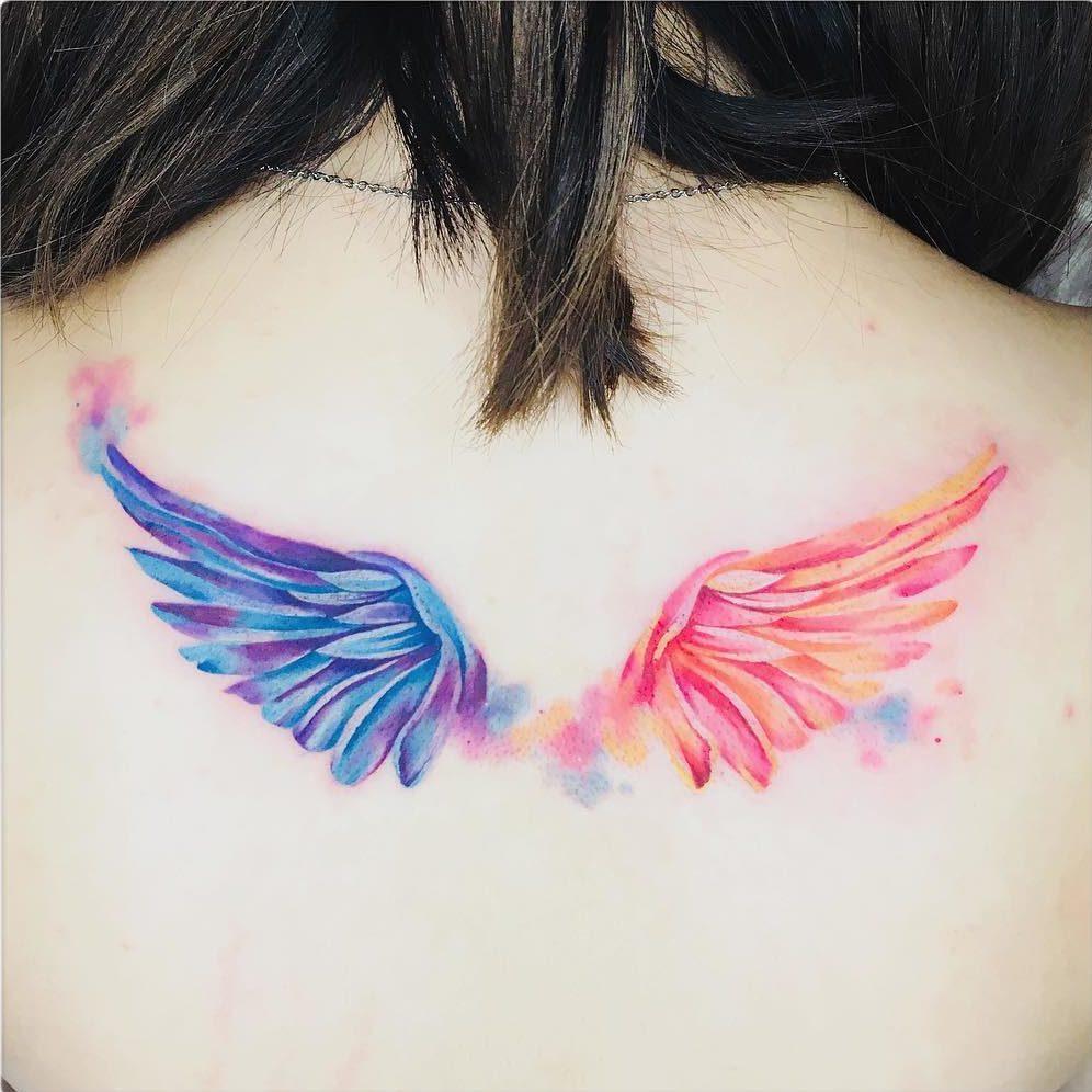 Alas De Luz Tatuajes Para Mujeres