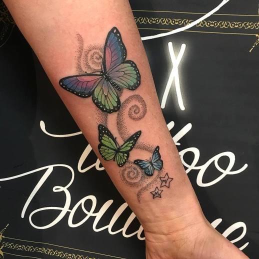 Mariposas revoltosas