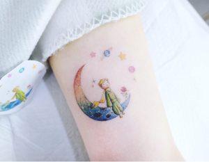 El Principito y la Luna