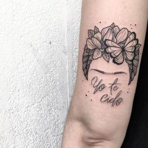 Frase: Yo te cielo por Frida Kahlo