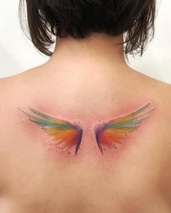 Alas por LCjunior Tattoo