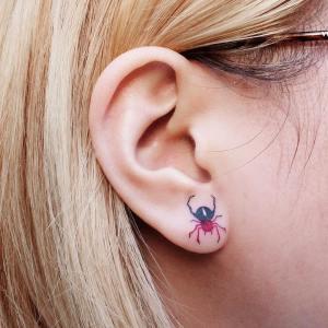 Araña por Zihee Tattoo