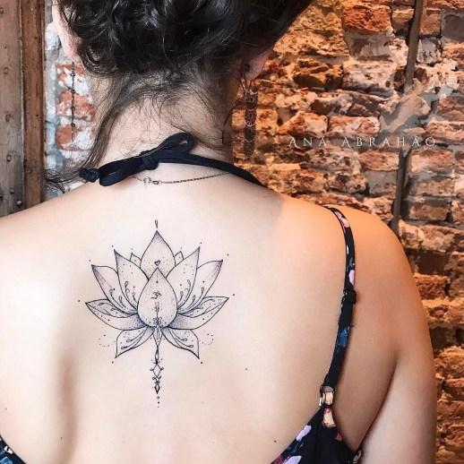 Flor de loto por Ana Abrahão