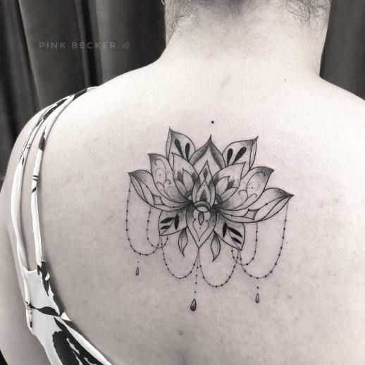Flor de loto por Pink Becker