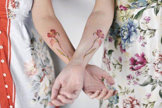 Flores de a dos por Luiza Oliveira