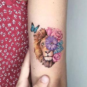 Metamorfosis de un león