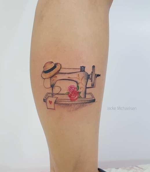 Máquina de coser por Jacke Michaelsen