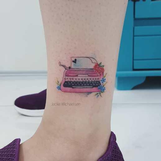 Máquina de escribir por Jacke Michaelsen