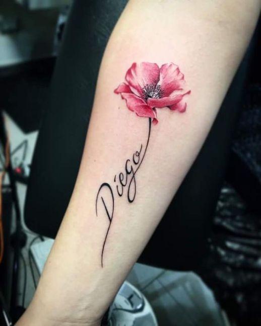 Nombre: Diego y flor