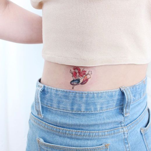La Sirenita por Tattooist Greem