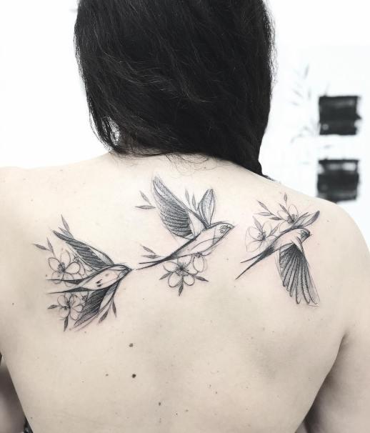 Aves por Mònica Sampietro