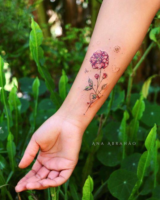 Flores por Ana Abrahão