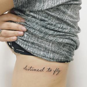Frase: Destined to fly por Felipe Bernardes