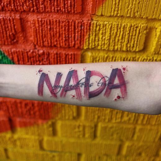 Frase: Nada my endless love por Georgia Grey